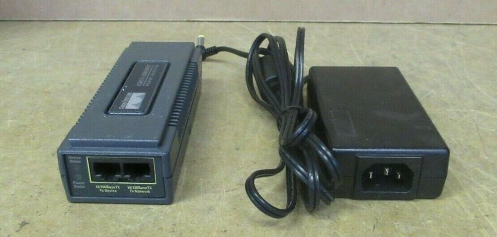 Cisco Systems Power injector External AIR-PWRINJ3 48V - 15 Watt With AC Adapter